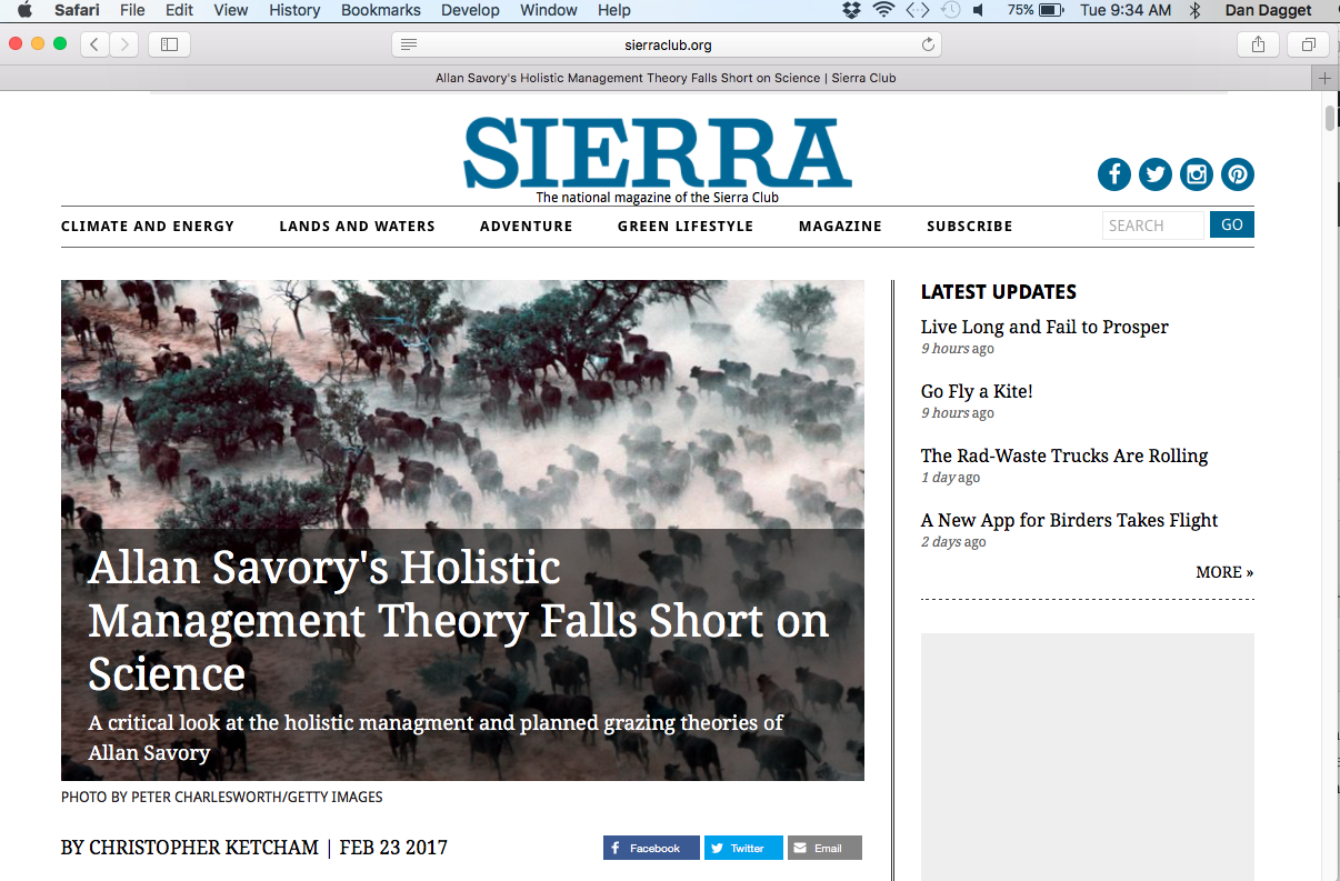 fake green, fake science – the sierra club (and george monbiot in